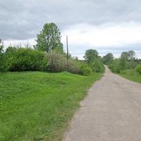 Козохово. Дорога по селу.