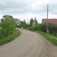 Въезд в Козохово от Поречья Рыбного.