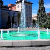 Светомузыкальный фонтан, Черкассы