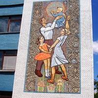 Мозаика на больнице