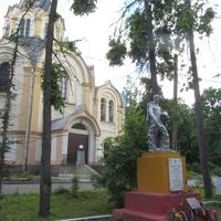 Любань. Памятник советским войнам