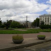 Н. Новгород - Ул. Октябрьской революции - Сквер