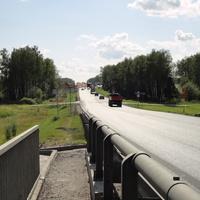 Строительство эстакады на трассе А-108
