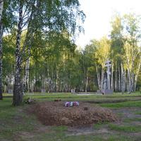 Кривцовский мемориал.Могила советских воинов.2016 год.