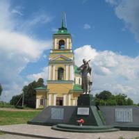 Монумент погибшим землякам в с.Галаново