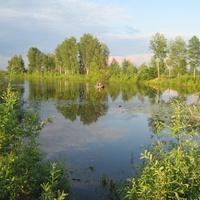 озеро возле Галаново
