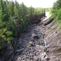 Русло-ущелье реки Вуоксы