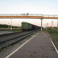 Мокроус. Железнодорожная станция. КОГДА УХОДЯТ ПОЕЗДА.