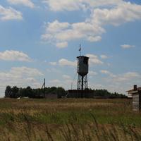 Водонапорная башня в Ёлкино