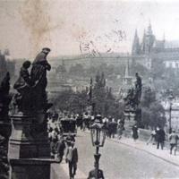 Прага,Карлов мост/Karlův most 40-е года.