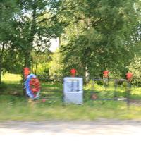 Коробята, памятник