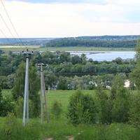 Природа, окресности Макаровки (когда то тут было поселение Лопасня)
