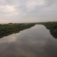Воронеж. Река Дон на окраине города.