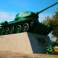 """Берислав. Танковые войска с жестокими  боями освобождали город от фашистских полчищ. За это им дали почетное звание """"Бериславская"""""""