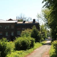 Бывшее здание малой Шатурской электростанции (открыта 25 июля 1920 под руководством А.В. Винтера)