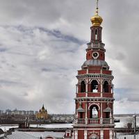 Колокольня Строгановской церкви.