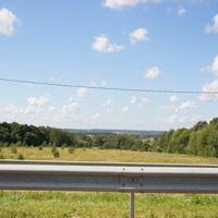 Вид на деревню Панькино
