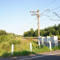 Железнодорожный переезд, жд Москва-Муром