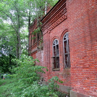 Вид старой церкви в Ясенском.