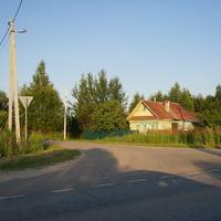 Курьяниха, дорога в деревню Климовская