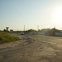 Посёлок центральной усадьбы совхоза Мир