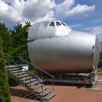 Космический модуль Буран - кабина пилотов (космонавтов)