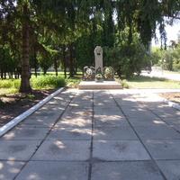 Памятник в Вергунах.