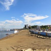 праздник в честь окончания второго этапа работ по реконструкции набережной