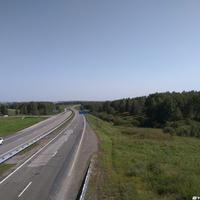 Трасса Новокузнецк - Ленинск-Кузнецкий вблизи Карагайлы