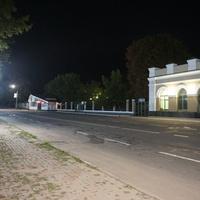 Район ж/д вокзала.