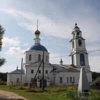 Церковь Георгия Победоносца в Ильинском
