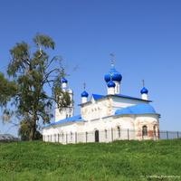 Церковь Рождества Пресвятой Богородицы в Большелучинском