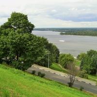 Вид на р.Волга с В.Волжской Набережной