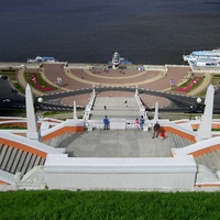 """Н. Новгород - """"Чкаловская лестница"""""""