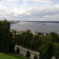 Вид на р. Волгу из Кремля