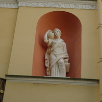 Скульптура в нише Агатовых комнат