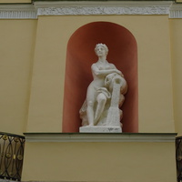 Скульптура Наяды в нише Агатовых комнат