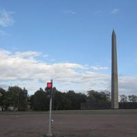 Монумент в честь первых боёв Красной армии в Крестах (1969 г.)