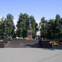 Н. Новгород - На пл. Минина и Пожарского