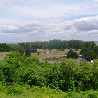 Вид  с парка им Богдана Хмельницкого.