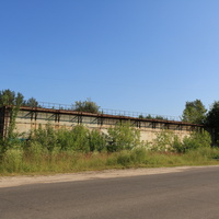 Заброшенный старый растворно-бетонный узел (РБУ)