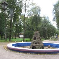В городском парке  Победы
