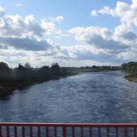 Остров, река Великая