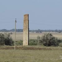 Дымовая труба- памятник кирпичному заводу