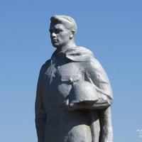 Памятник на могиле павшего в ВОВ