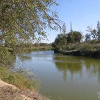 река Куберле у въезда в центр