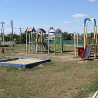 Детская игровая площадка в Кучманском парке