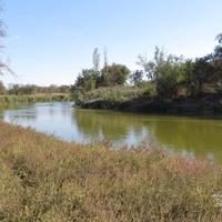 Река Куберле при въезде в центр