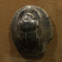 Зал Древнего Египта. Фигурка Скарабея.