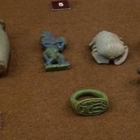 Зал Древнего Египта. Изделия из керамики.